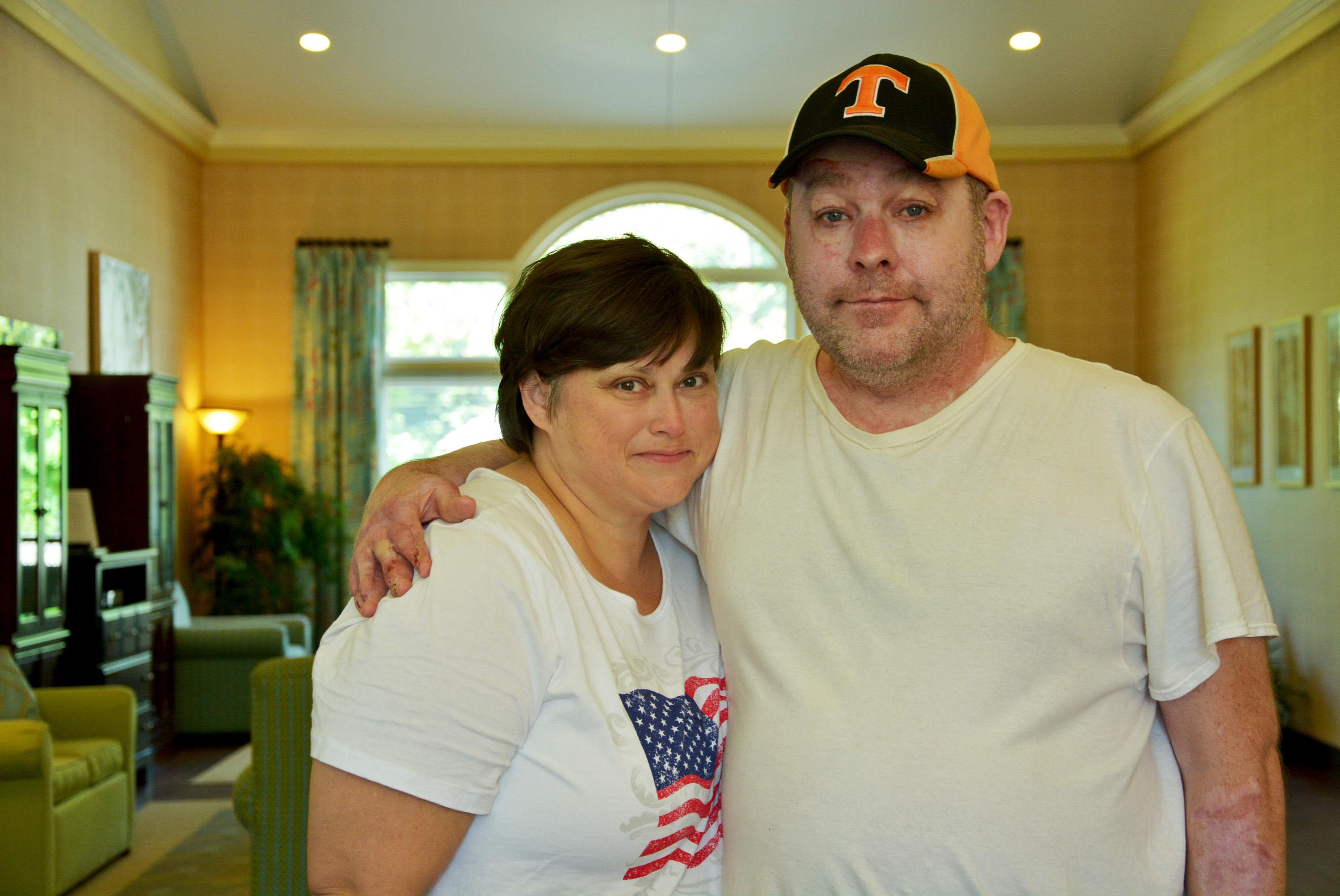 Karen Clark and John Middleton of Johnson City, TN